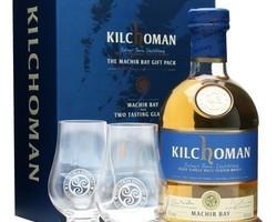 Coffret Kilchoman + 2 verres