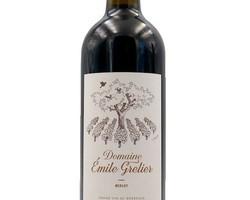 Bordeaux Supérieur Emile Grelier 2015 (100% Merlot BIO)