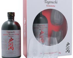 Coffret Togouchi Kiwami + 2 verres