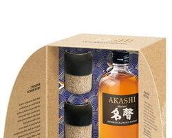 Coffret Akashi Meisei +2 verres japonnais