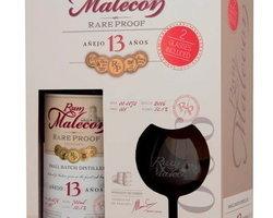 Coffret Malecon 13 ans + 2 verres