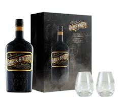 Coffret Black Bottle + 2 verres